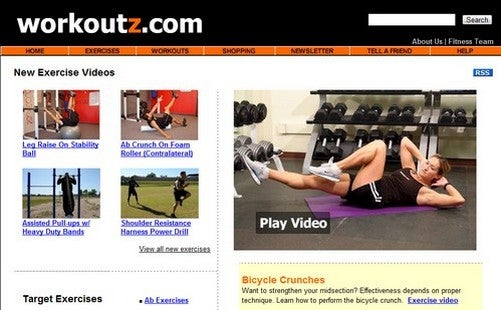 Workoutz Catalogs Workout Videos for Easy At-Home Training