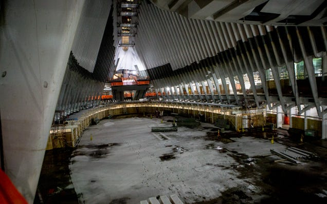 Someone Snuck Into NYC's $4 Billion Train Station And Took These Pics