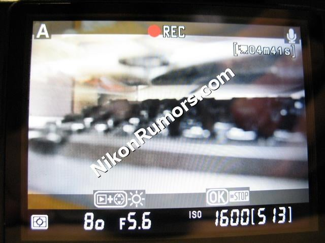 Nikon D90's DSLR Video Capture Mode Confirmed In Pictures