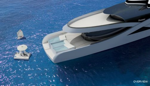 C-Stream Concept Takes 'F-You, Common Man' And Turns It Into a Yacht
