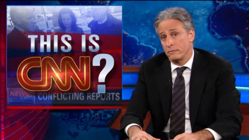 Jon Stewart Is Not Quite Done Making Fun of CNN
