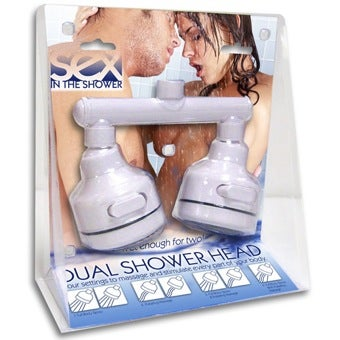 Two Heads Make Shower Sex Hotter