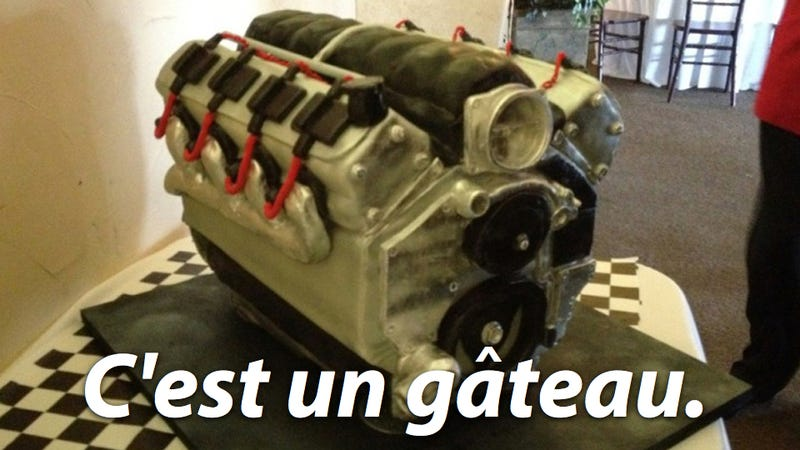 This Is Not An Engine, It's A Cake