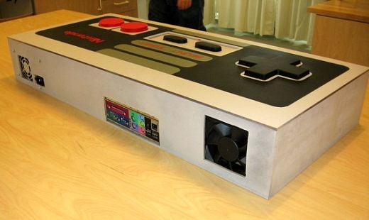 Giant NES Controller PC Case Mod...Bigger is Definitely Better