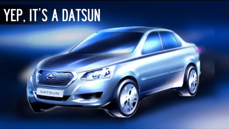 Russia, Meet The New Datsun ... Errr, Something