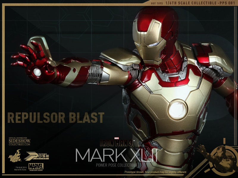 Iron Man's New Armour Can Fit On Your Desk