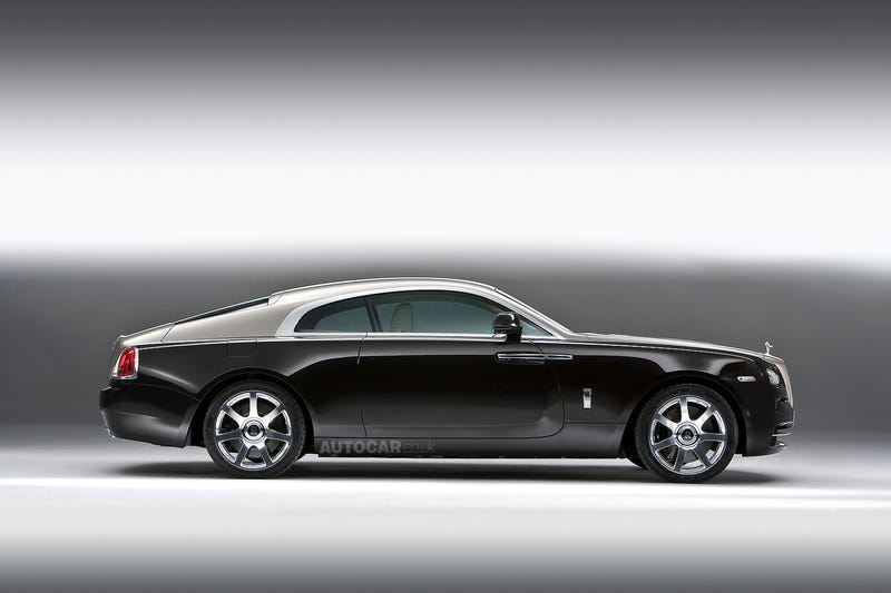 The Rolls-Royce Wraith Is The Most Powerful Way To Deliver Mustard