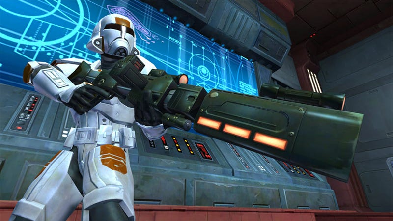 Star Wars: The Old Republic Trooper Class Revealed