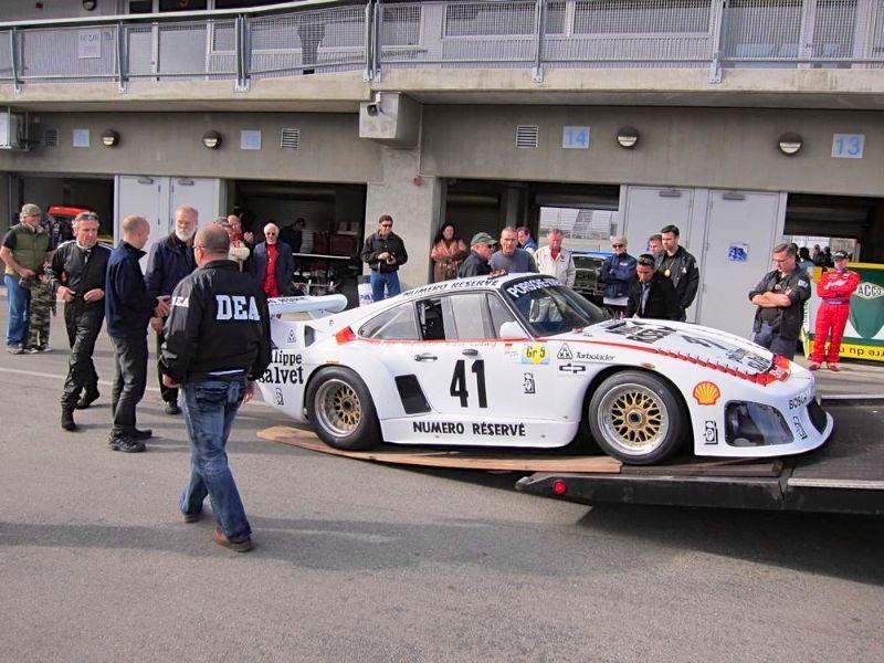 Le Mans-winning Porsche 935 K3 seized