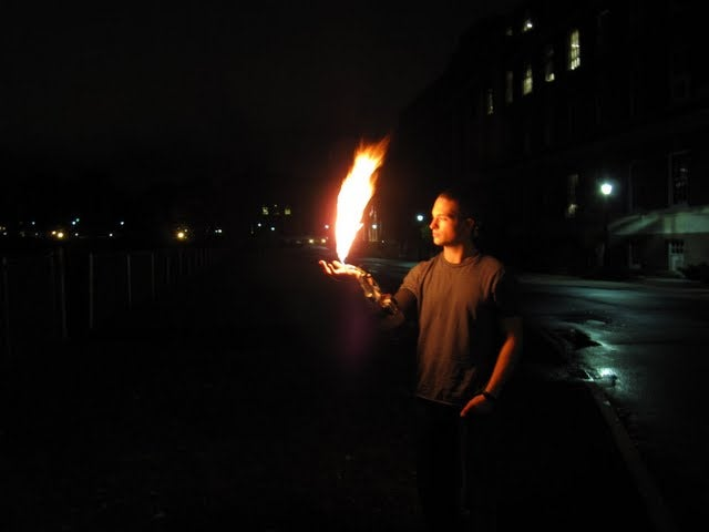DIY Wrist-Mounted Flamethrower Lets You Pretend To Be An X-Man