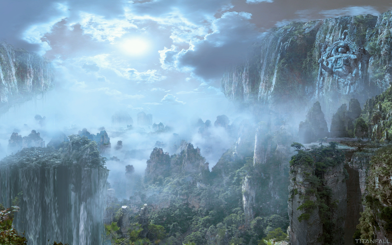 Enjoy the vistas of Titanfall with these wallpapers
