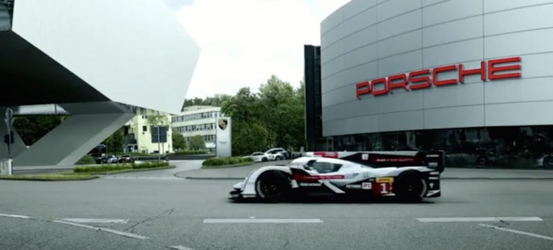 Watch Audi Welcome Porsche Back To Le Mans In The Cockiest Way Possible