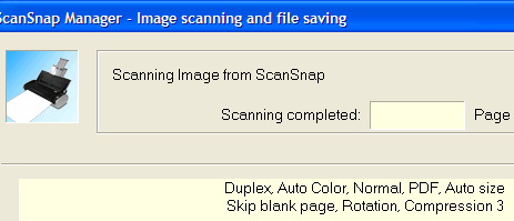 Scan Paperwork to PDF in One Step