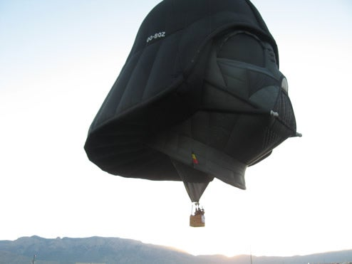 That's Not A Planet: Darth Vader Flies Again