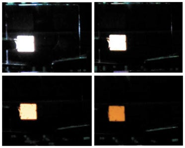 Temperature-Adjusted OLEDs Simulate Sunlight