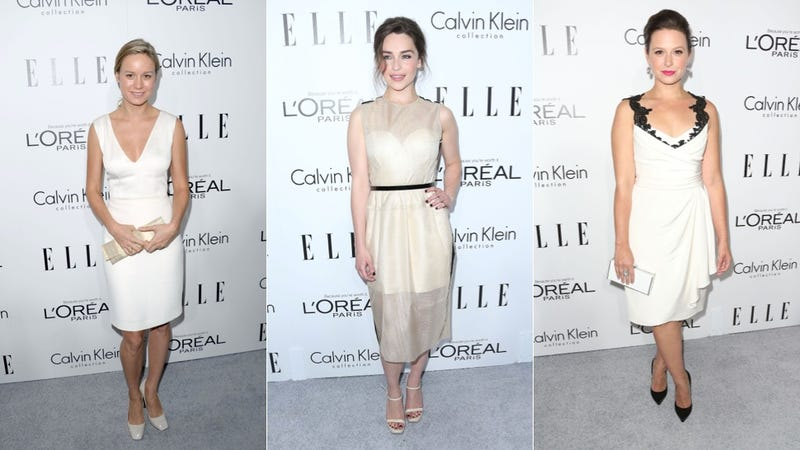 Tube Tops and Power Suits at the Elle Women in Hollywood Party