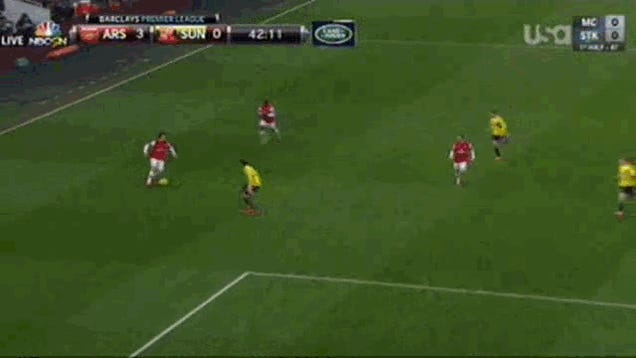 Arsenal Strike Again With Mesmerizing Goal