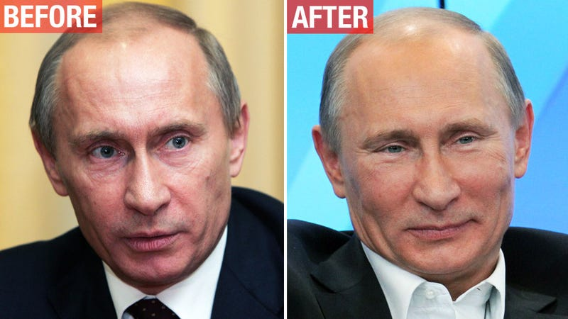 Can We Talk About How Ridiculous Putin's Plastic Surgery Is?