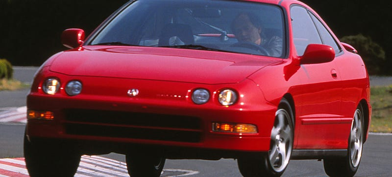 The Acura Integra Is Still One Of America's Top-Ten Most-Stolen Cars
