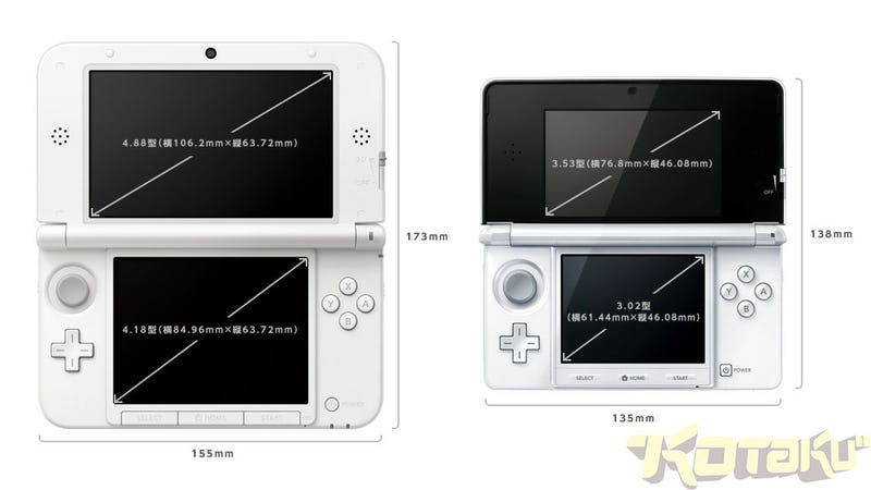 Comparing the Size of the 3DS XL vs the Old 3DS