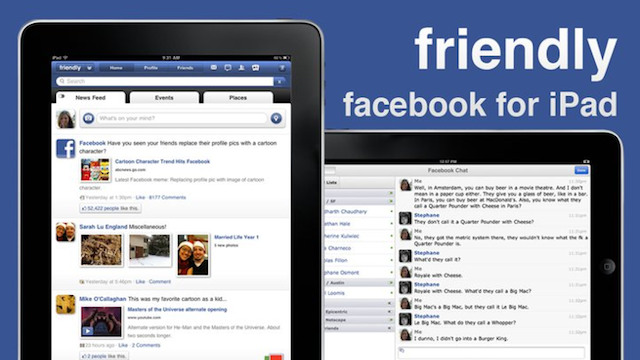 Get the Unofficial Facebook App for Your iPad