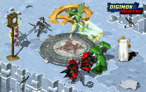 Digimon Battle Digivolves Into Open Beta Registration