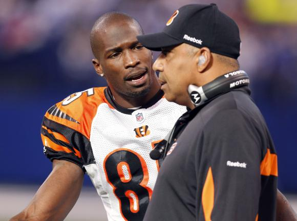 Chad Ochocinco Threatens To Whoop Marvin Lewis's Ass