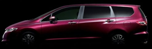 JDM Honda Odyssey Teaser Shot Reveals Big Purple People Eater