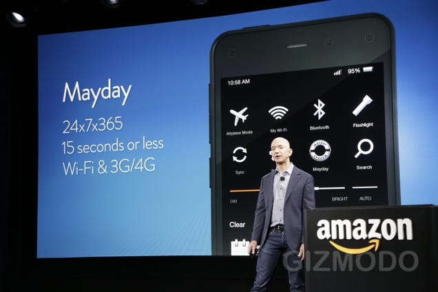 Amazon's Fire Phone Is Here at Last (Updating...)