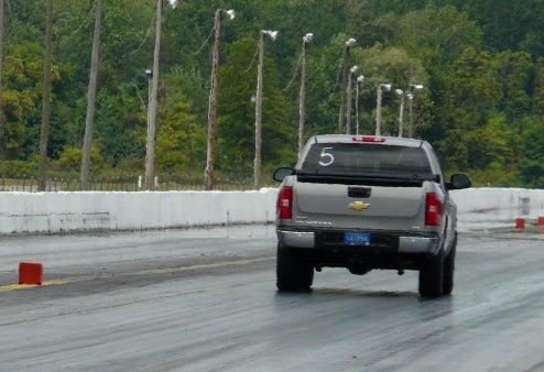 Jalopnik 2009 Pickup Truck Comparison Challenge: Drag Strip