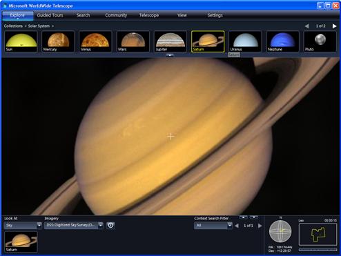WorldWide Telescope Visualizes the Night Sky