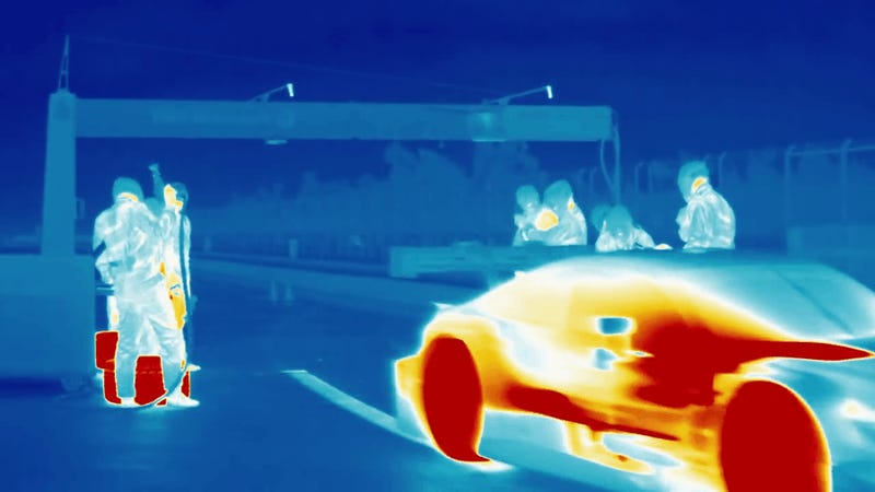 Thermal Imaging Pit Stops Are The Best Pit Stops