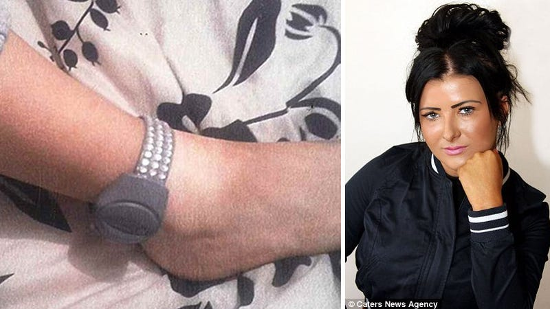 This Woman Was Fined For Decorating Her Electronic Security Bracelet