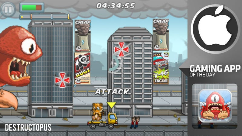 Destructopus! Brings Out the Rampaging Sea Monster In Your iPhone