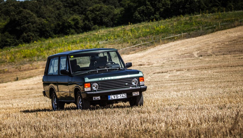 Driving The Original Range Rover Coupe: Lovely Idea, Lousy Execution