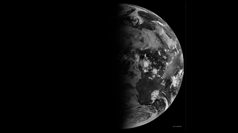 A Haunting Photograph of the Fall Equinox From Space