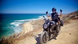 Baja in 6 days - Ducati Diavel Strada - MotoGeo Adventures