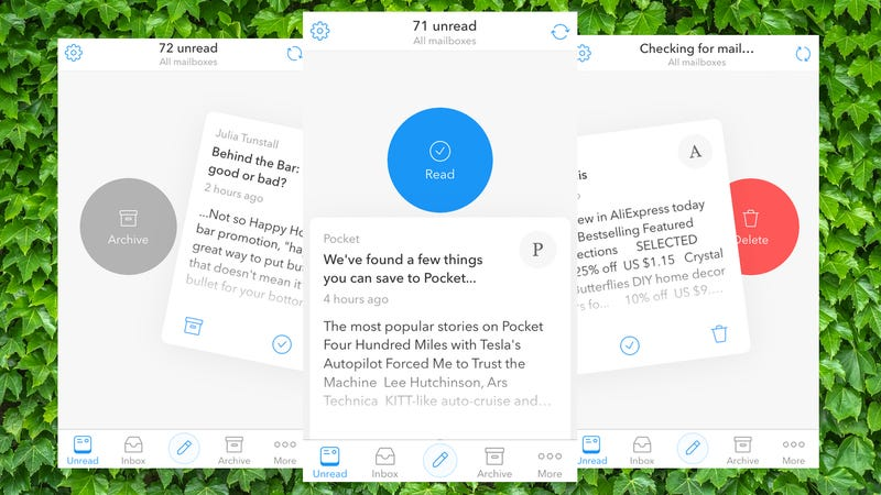 Morning Mail Sorts Your Inbox with Tinder-Like Swipes
