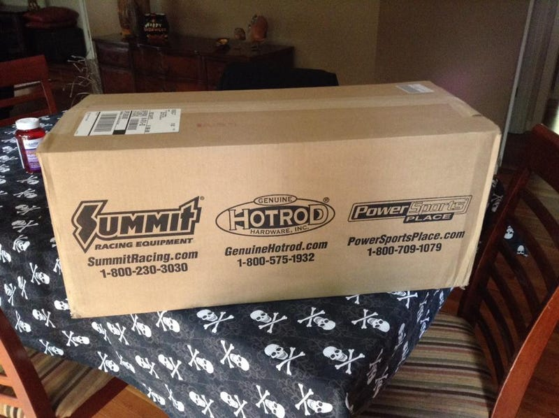 Oh boy, a box from Summit came in the mail!