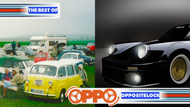 A German Microcar Meet and the infamous 'Blackbird' Porsche 930 Turbo