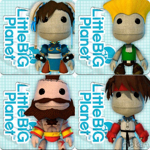 Street Fighter Sackboy Costumes OTW?