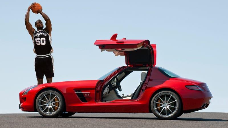 Ten sports cars big enough for an NBA center