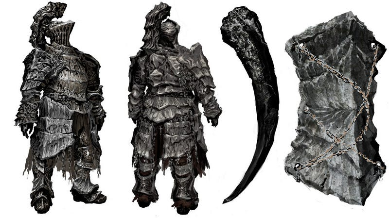 You may not Survive This Dark Souls Concept Art