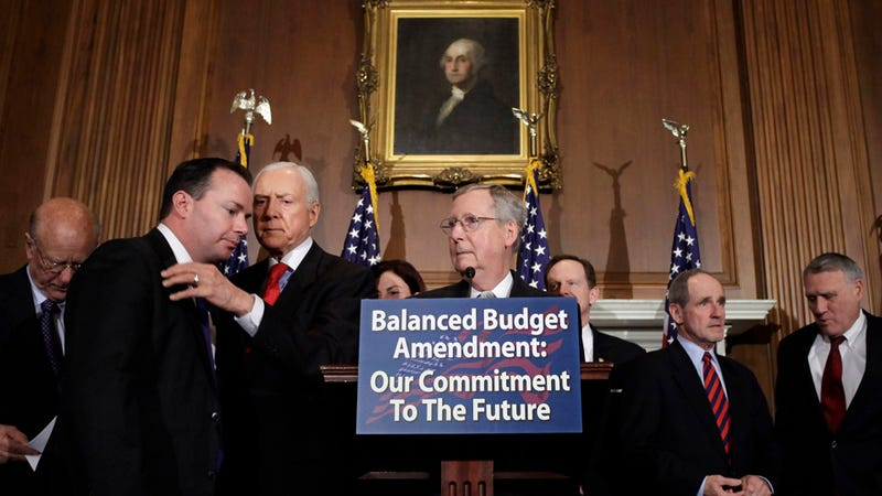 How Republicans' Balanced Budget Amendment Could Solve Everything