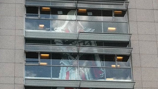 The Great Ubisoft Post-It Wars End With a Three-Story Assassination