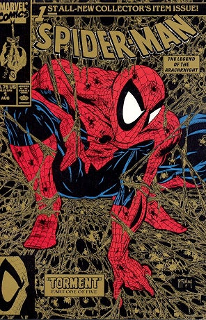 Would you spend $200,000 on this Todd McFarlane Spider-Man cover?