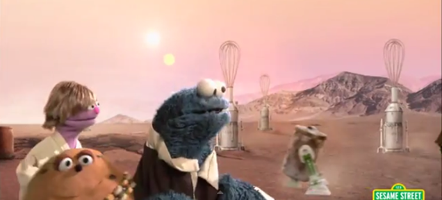 Sesame Street's Star Wars Parody Is Predictably Adorable
