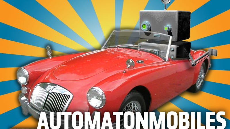 Famous Robots And The Cars That Are Just Like Them