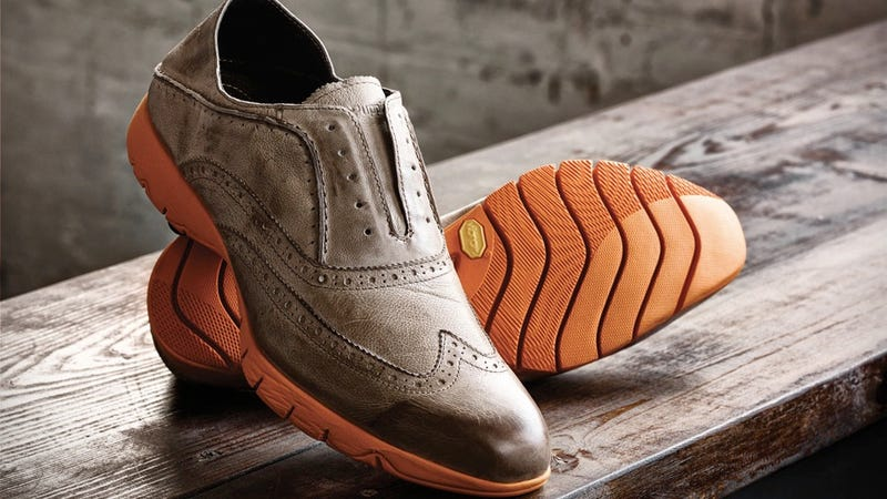 These Hush Puppies Vibram Wingtip Shoes Are So Dumb They Should Be Burned