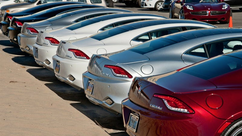 Fisker Halts Karma Production After Running Out Of Batteries